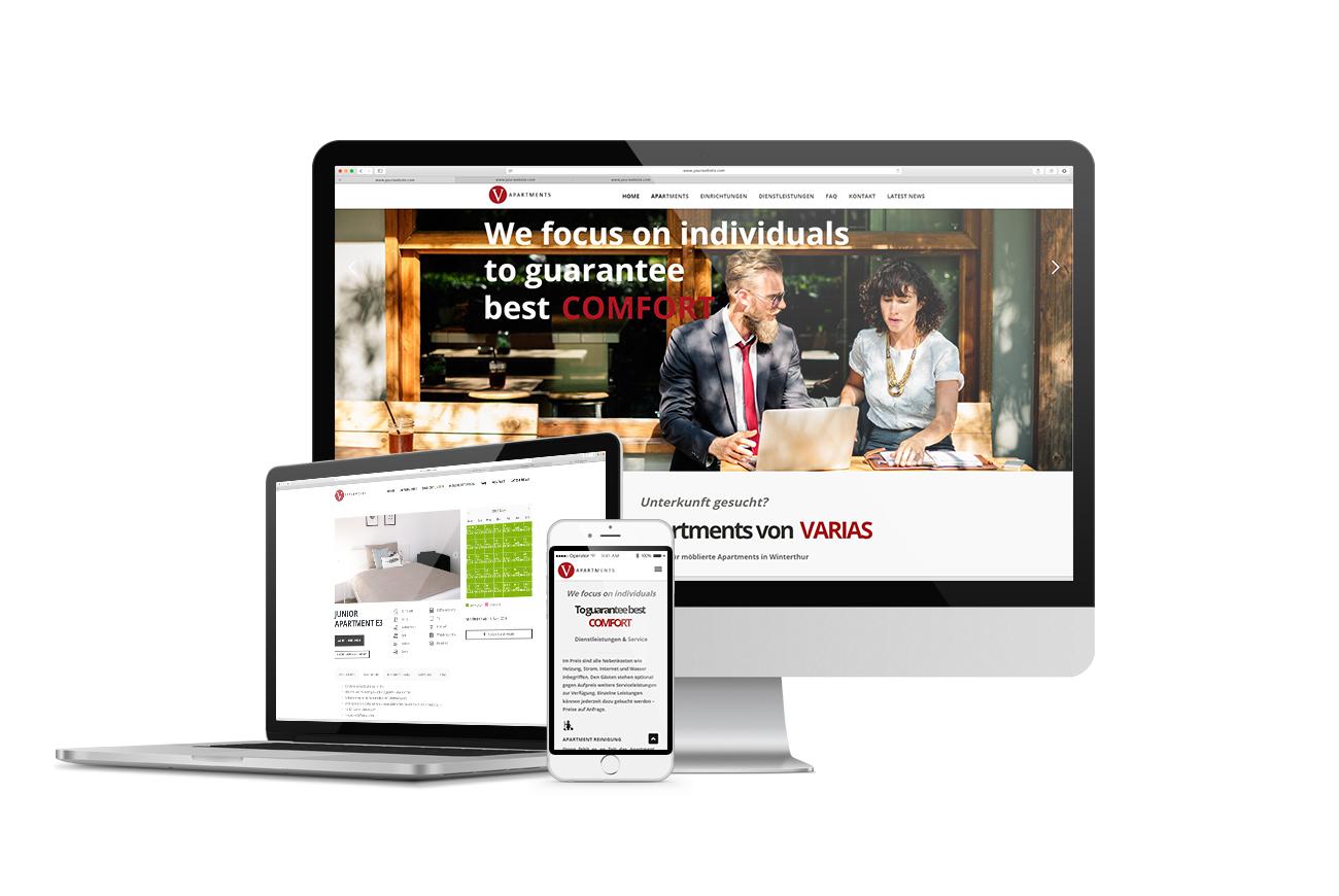 Neuer Webauftritt für VARIAS Apartments