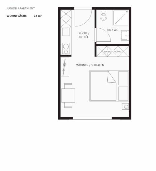 Junior Apartment St. Gallerstrasse 60 - BAP